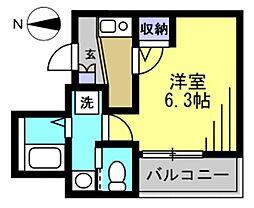 仮)矢口1丁目アパート[102kk号室]の間取り