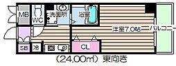 IF・西梅田[5階]の間取り