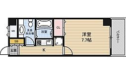 SHINE&SHINE55[8階]の間取り