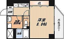 CESTA高槻[801号室]の間取り