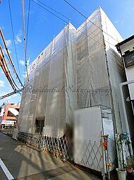 神奈川県藤沢市湘南台1丁目の賃貸アパートの外観