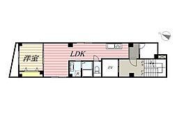 AKハイム笹塚[701号室]の間取り