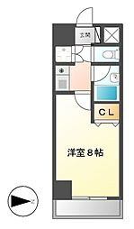 覚王山エクセル[6階]の間取り
