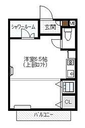 T'S HOUSE[2F号室]の間取り