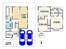 馬堀駅 1,980万円
