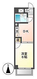 愛知県名古屋市瑞穂区御劔町1丁目の賃貸マンションの間取り