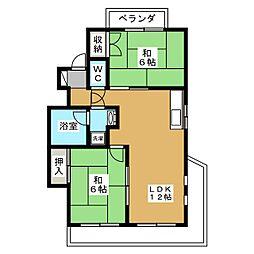 丹羽ビル[2階]の間取り