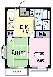 香川県丸亀市土器町東5丁目の賃貸アパートの間取り