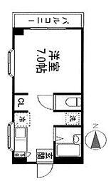 HOSOGAYAハイム[305号室]の間取り