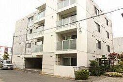北海道札幌市北区麻生町3丁目の賃貸マンションの外観