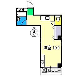 サクレクール[2階]の間取り