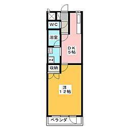 さくらマンション[3階]の間取り