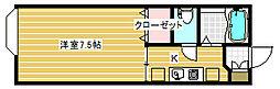 セジュール関屋田町[207号室]の間取り