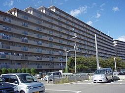 大阪府三島郡島本町青葉3丁目の賃貸マンションの外観