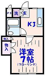 ミヤコ[102号室]の間取り