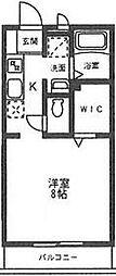 オモテ・ワタナベ[105号室号室]の間取り