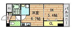 social village(ソシアル ヴィレッジ)[8階]の間取り