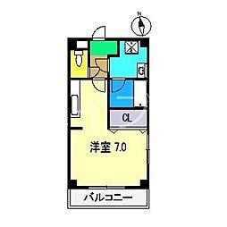 ウィステアリア ハイム[2階]の間取り