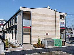 埼玉県八潮市西袋の賃貸アパートの外観