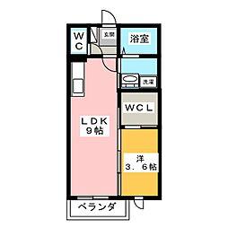 ソフィアA棟[1階]の間取り