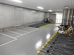 S-GLANZ大阪同心のバイク置場もございます。