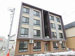 北海道札幌市白石区菊水九条2丁目の賃貸マンションの外観