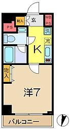 パークアクシス横浜井土ヶ谷[5階]の間取り