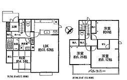 押部谷駅 2,380万円