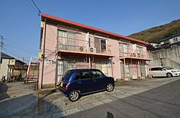 岡山県岡山市北区津島東4丁目の賃貸アパートの外観
