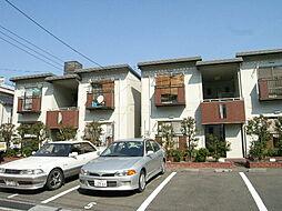 広島県広島市西区大芝1丁目の賃貸アパートの外観
