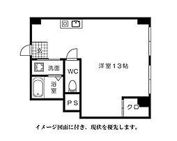 ES第2ビル--[202号室]の間取り