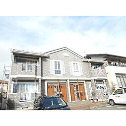 長野県長野市豊野町蟹沢の賃貸アパートの外観