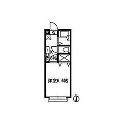 K2ハイツA[206号室]の間取り