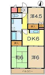 糸川マンション[4階]の間取り