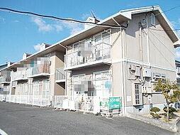 岡山県総社市小寺の賃貸アパートの外観