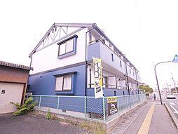 岡山県総社市中央1丁目の賃貸アパートの外観