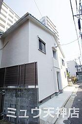 福岡県福岡市中央区春吉2丁目の賃貸アパートの外観