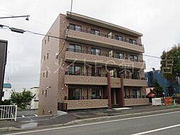 北海道札幌市白石区平和通12丁目北の賃貸マンションの外観