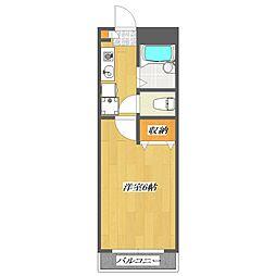 STビル[2階]の間取り