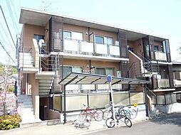 京都府京都市左京区北白川伊織町の賃貸マンションの外観