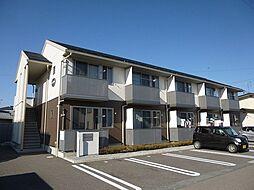 長野県長野市大字稲葉日詰の賃貸アパートの外観