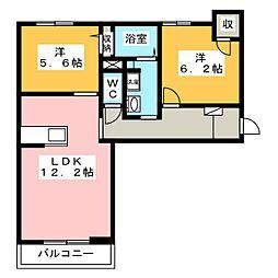 Relafort[3階]の間取り