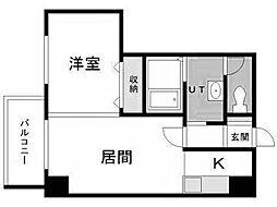 北海道札幌市中央区北四条西11丁目の賃貸マンションの間取り