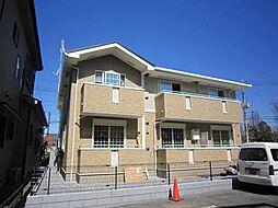 埼玉県川口市鳩ヶ谷本町4丁目の賃貸アパートの外観