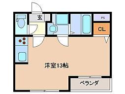 フローラ・S[3階]の間取り