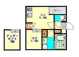 シアヴィータ名古屋(シアヴィータナゴヤ)[1階]の間取り