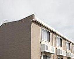兵庫県姫路市飾磨区加茂の賃貸アパートの外観