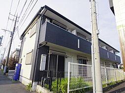 千葉県松戸市南花島1丁目の賃貸アパートの外観