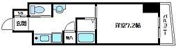 内淡路町新築マンション[10階]の間取り