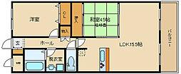 NAGARE(ナガレ)35[303号室]の間取り